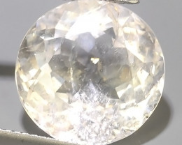 10.25 Cts - Sparkling Luster - Round Gem - Natural Fine White~Beryl!!