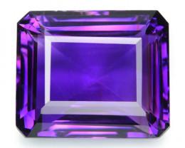 18.06 Cts Natural Purple Amethyst Loose Gemstone