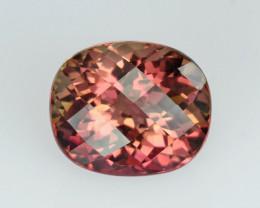 Bi colour Tourmaline, from Nigeria, rare gems very special, exceptional col