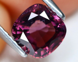 Purple Spinel 1.32Ct Square Cut Natural Purple Color Spinel A0505