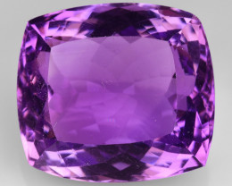 24.67 CT NATURAL AMETHYST GOOD CUT GEMSTONE AM51
