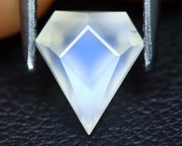 Blue Moonstone 1.01Ct Master Cut Natural Ceylon Blue Moonstone B0507