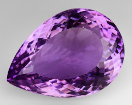 12.91 CT NATURAL AMETHYST GOOD CUT GEMSTONE AM76