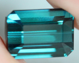 4.68 CT Indicolite tourmaline AAA Extra Fine Color !! - IT48