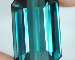 3.76 CT Indicolite tourmaline AAA Extra Fine Color !! - IT50