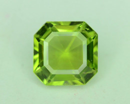Top quality 1.65 ct Attractive Ascher Cut Peridot~ ST