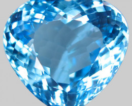 20.77 ct. 100% Natural Earth Mined Top Quality Blue Topaz Brazil