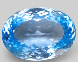 32.13 ct. 100% Natural Earth Mined Top Quality Blue Topaz Brazil