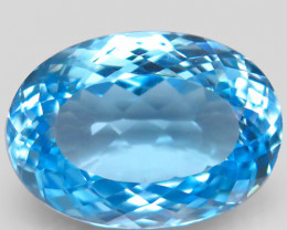19.77 ct.100% Natural Earth Mined Top Quality Blue Topaz Brazil