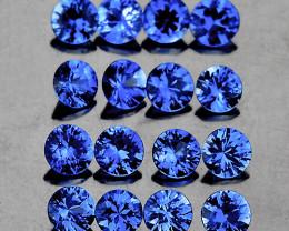 2.80 mm Round 12 pcs 1.15cts Ceylon Blue Sapphire [VVS]