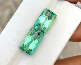 12.40 Ct Superb Green Transparent Ring Size Kunzite Gemstones Parcels