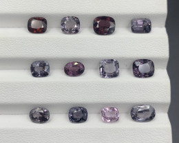 15.82 ct Spinel Gemstones Parcel / 12 pc