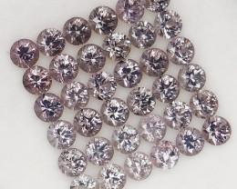 4.94 Ct. Natural Rich Gray Purple  Diamond cut Spinel Mogok, Burma - 36 ps