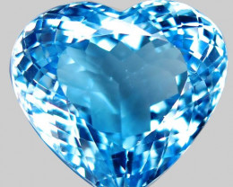 23.60  ct.100% Natural Earth Mined Top Quality Blue Topaz Brazil