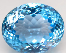 36.03  ct.100% Natural Earth Mined Top Quality Blue Topaz Brazil