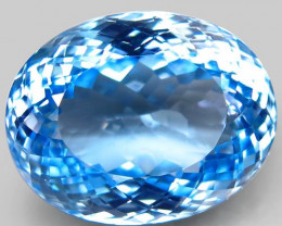 41.81  ct.100% Natural Earth Mined Top Quality Blue Topaz Brazil