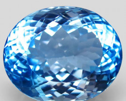 50.39 ct.100% Natural Earth Mined Top Quality Blue Topaz Brazil