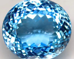 31.11  ct.100% Natural Earth Mined Top Quality Blue Topaz Brazil