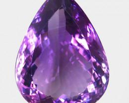 47.07 ct 100% Natural Earth Mined Unheated Purple Amethyst, Uruguay