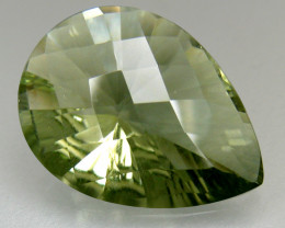 Africa Tourmaline 4.23 Cts Green Quantum Cut BGC128