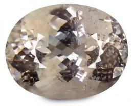 Brazilian Morganite 13.17 Cts Peach Antique Step Cut BGC118