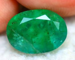 Emerald 2.70Ct Natural Zambia Green Emerald E0603/A38