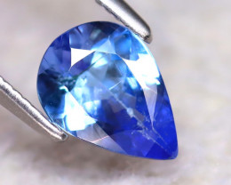 Tanzanite 0.96Ct Natural VVS Purplish Blue Tanzanite EF0622/D3