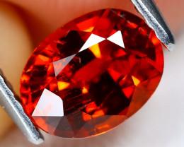 Mandarin Spessartite 1.72Ct Oval Cut Natural Spessartite Garnet B0608