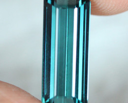 4.15 CT $800 Indicolite tourmaline AAA Extra Fine Color !! - IT52