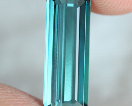 3.08 CT 16X6 MM Indicolite tourmaline AAA Extra Fine Color !! - IT54