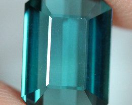 3.25 CT Indicolite tourmaline AAA Extra Fine Color !! - IT58