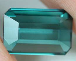 2.66 CT Indicolite tourmaline AAA Extra Fine Color !! - IT59