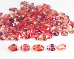 Orange Sapphire 22.78 Cts 99 Pcs Amazing Rare Natural Fancy Loose Gemstones
