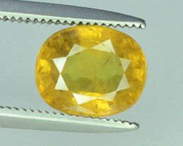 Top Clarity & Color 2.20 ct Rarest Yellow Sapphire~ Sri Lanka
