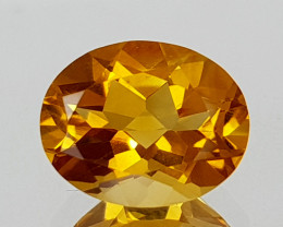 1.69Crt Madeira Citrine Natural Gemstones JI17