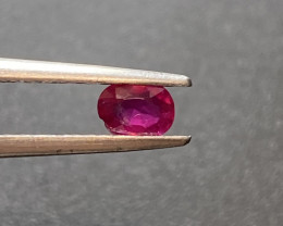 0.29ct unheated Pigeon Blood ruby