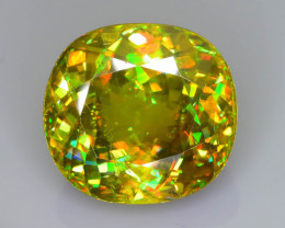 Rare AAA Fire 10.66 ct Sphene