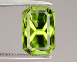 Top Luster 2.65 ct Peridot Ring Size