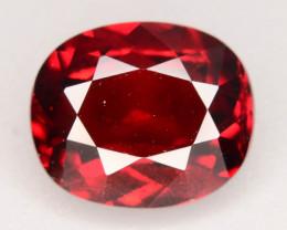 Top Grade 3.80 ct Fancy Cut Red Garnet~KS