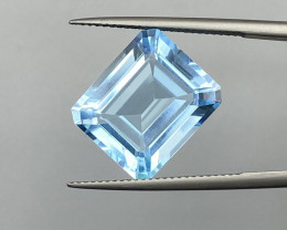 Natural Sky Blue Topaz 14.66 cts Good Luster