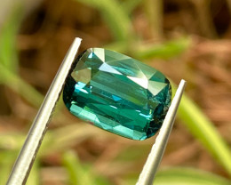 2.86 Blue Tourmaline Afghanistan  Gemstone
