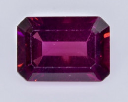 1.10 Crt Natural  Rhodolite Garnet Faceted Gemstone.( AB 35)