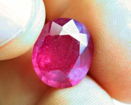 10.89 Carat Virbrant Pink Ruby - Superb