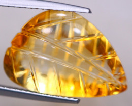 12.36Ct Natural Yellow Citrine Fancy Cut Lot LZ7469