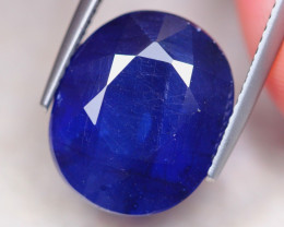 13.15Ct Ceylon Blue Sapphire Oval Cut Lot LZ7464