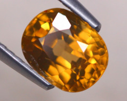 2.44ct Natural Yellow Zircon Oval Cut Lot V8033