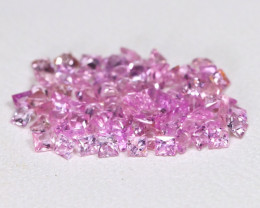 2.05Ct 1.50mm Natural Untreated Pink Color Sapphire Lot BT0126