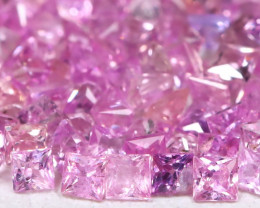 3.24Ct 1.60mm Natural Untreated Pink Color Sapphire Lot B7945
