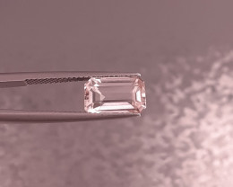 2.66Cts Natrual Morganite  Gemstones