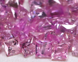 3.05Ct 2.0mm Natural Untreated Pink Color Sapphire Lot B7946